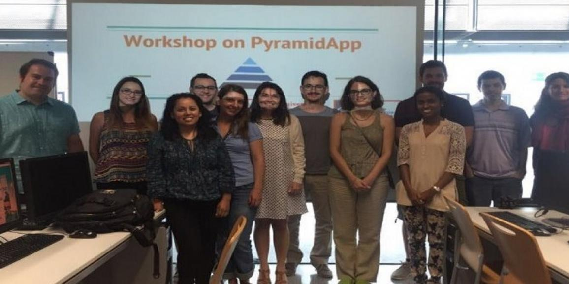 Hands-on workshops about PyramidApp